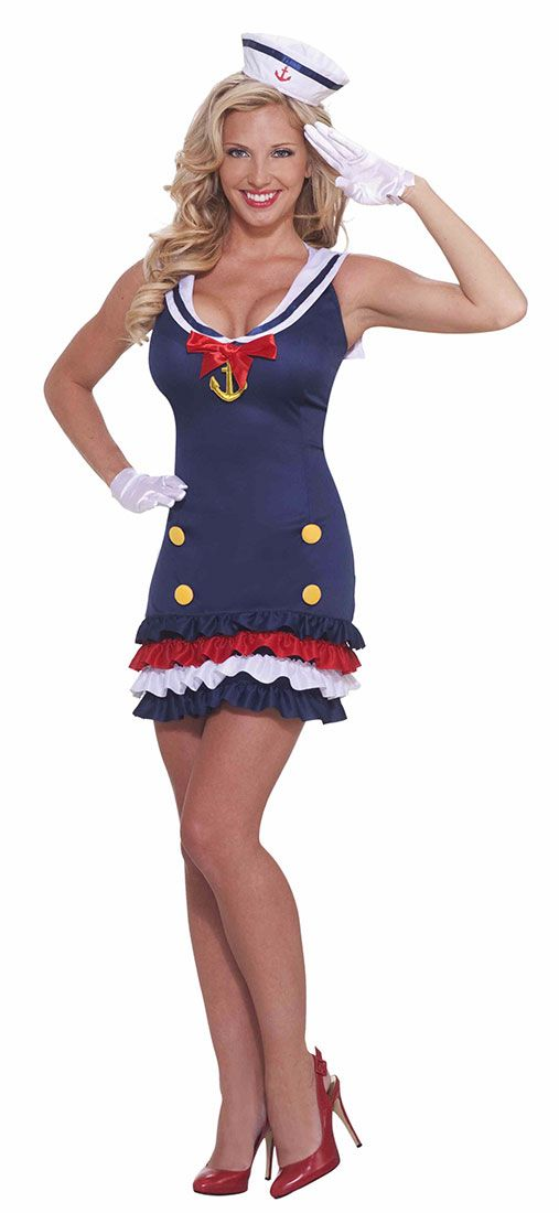 Ship Shape Sailor Costume - Sailor Costumes