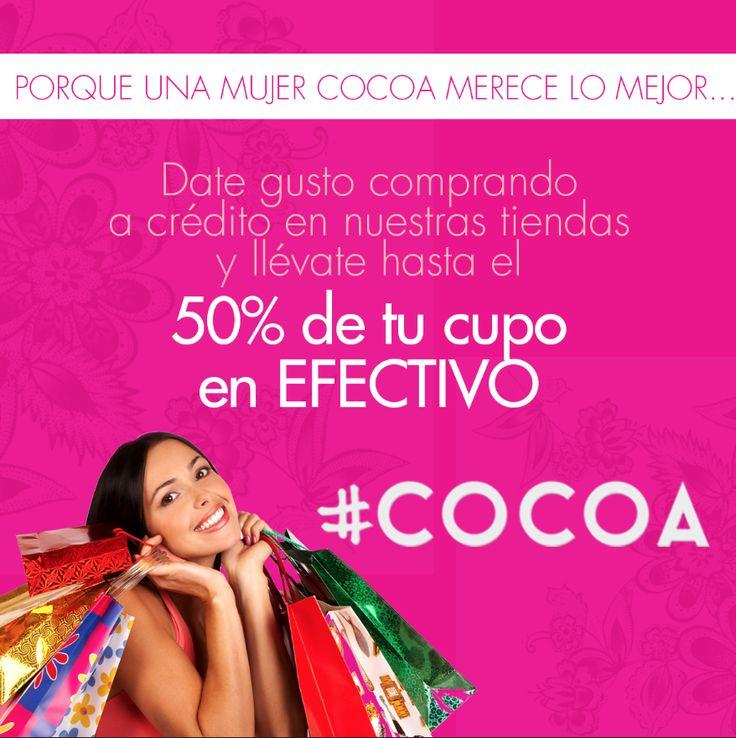 Disfruta de todos los beneficios que tiene nuestro #CreditoCocoa