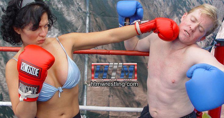Mixed boxing fetish