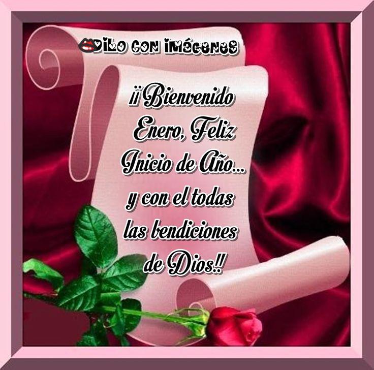 DILO CON IMÁGENES♥ ♥ ¡¡ Bienvenido Enero, Feliz Inicio de