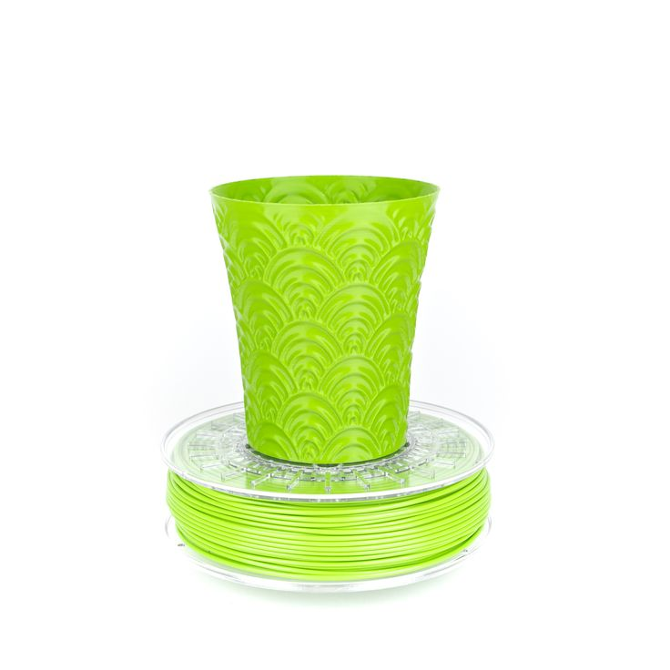ColorFabb Flourescent Green PLA filament is designed to work with a wide range of 3D Printers. ColorFabb is available in a wide range of colors. 100% biodegradable, extremely high-quality, imported from Holland. Available in 1.75 mm and 2.85 mm sizes.  #3DPrinting #Filament #ColorFabb