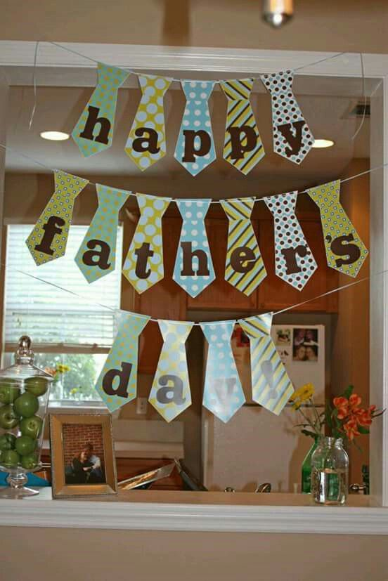 Banderines Happy fathers day