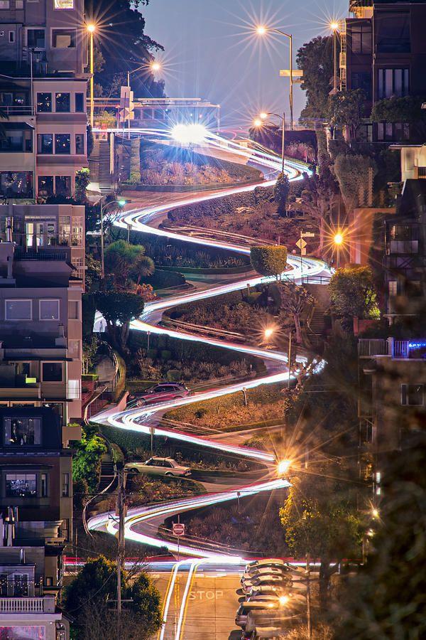 Lombard Street San Francisco CA David