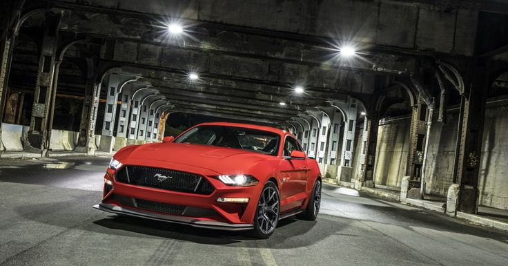 Ford mustang gt performance pack level 2, muscle car, 2018, 4k wallpaper