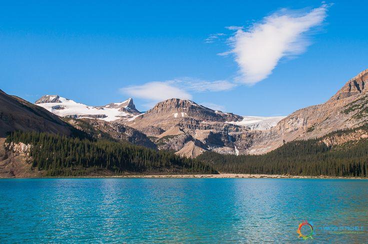 Bow Lake - Icefields Parkway - #Alberta #RockyMountains