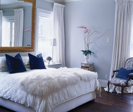 45 best ideas about chambre blanche et bleu canard on. Black Bedroom Furniture Sets. Home Design Ideas