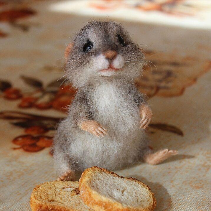 Знакомьтесь- мышонок Мася  Моя любовь с первого взгляда Он конечно всегда голодный, сколько не корми, но такой трогательный  Мышонок в резерве. #мышки #мышь #мышонок #mausi #maus #feltingwool #feltingtoys #сувенир #сухоеваляние #авторскиеигрушки #khabarovsk27