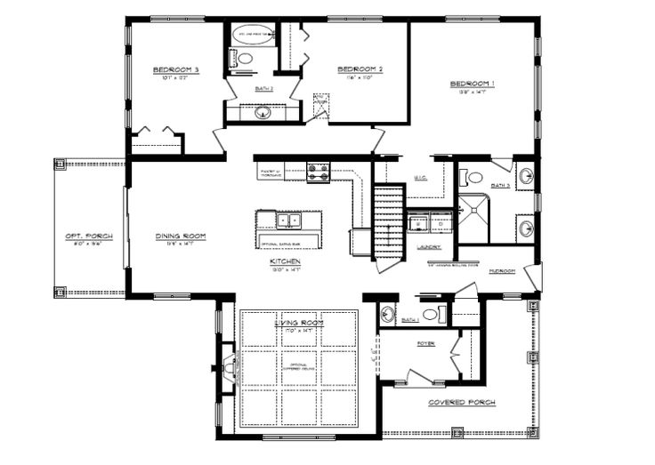 Lindsay Floorplan - custom design yours today.  www.qualityhomes.ca