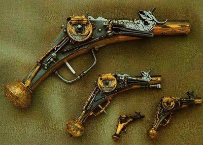Dresden Armory (Rüstkammer). Wheellock Pistol, Germany, 16th century