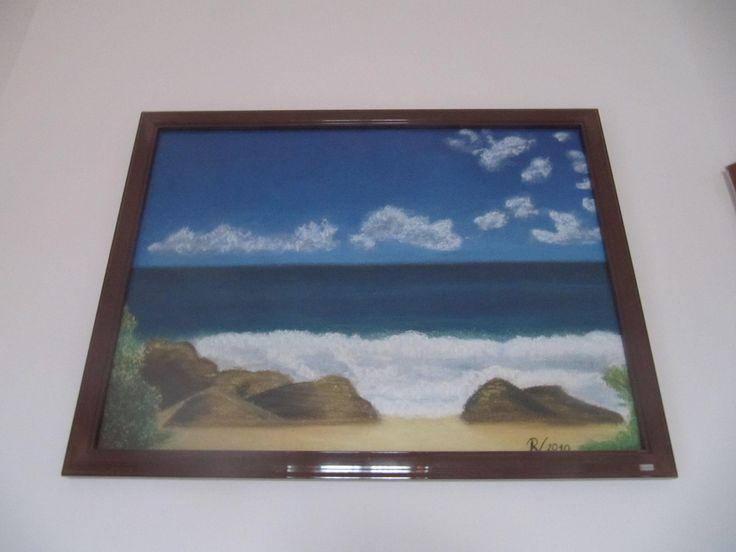 Mořské pobřeží Soft pastel - Sea coast