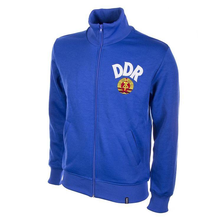 Shop DDR 1970's Retro Football Jacket   801   Buy online   COPA