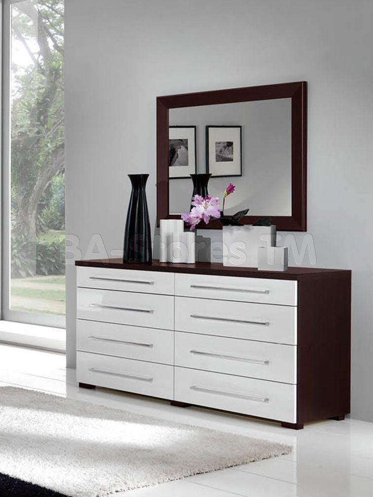 white luxury double dresser and mirror philbuzz