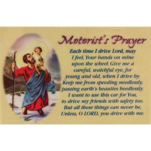 Scripture For Safe Travel: 12 Best St.Christopher's Prayer For Travelers Images On