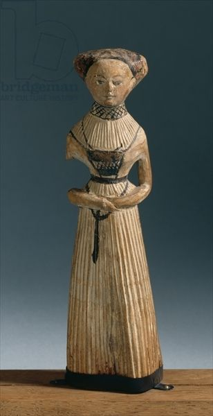 Doll, from Thueringen, c.1530 (carved wood)