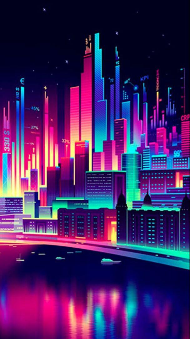 City Hd Phone Wallpaper Neon Wallpaper City Wallpaper Aesthetic Wallpapers