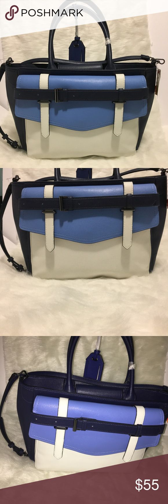 New!Reed Modern American luxury Office,tote/Bag Brand new Reed Modern Luxury Tote Blue Bag, Drop Down Handles,Removable Crossbody Strap,Magnetic Snap Clousure Reed Modern American Luxury Bags Totes