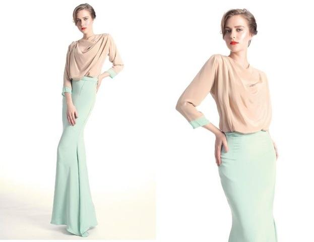 koleksi busana aidilfitri 2012 baju raya busana raya nurita harith 2