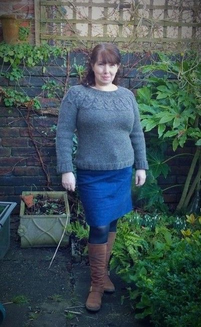 Kate Davies Owl sweater