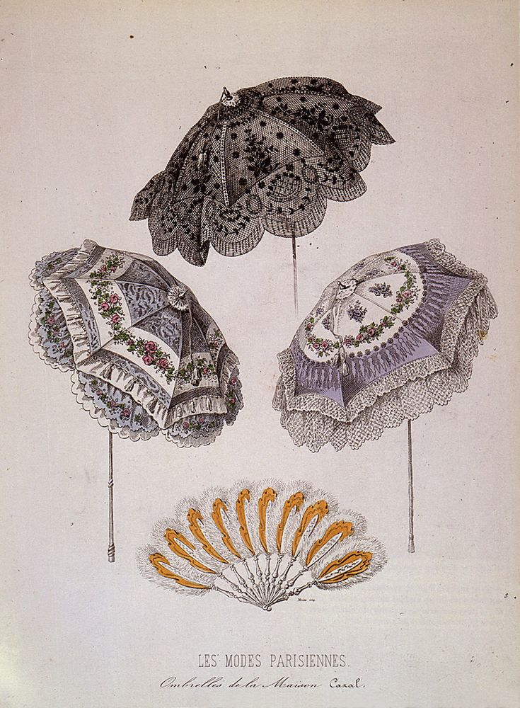 91 best 1800s Parasols/Fans images on Pinterest | Hand ...