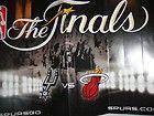 For Sale - San Antonio Spurs vs. Miami Heat 2013 NBA Finals In-Game Seat Poster Mini Banner