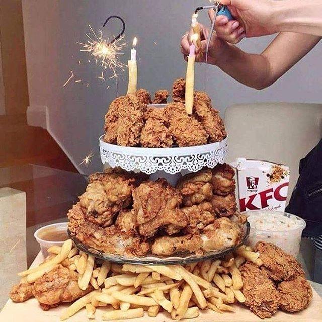 KFC CAKE!!! :-) mmm