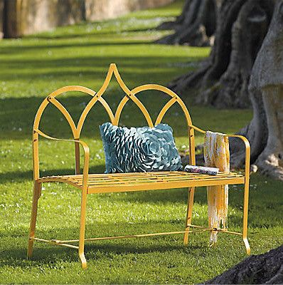 Royal Bench eclectic outdoor stools and benches