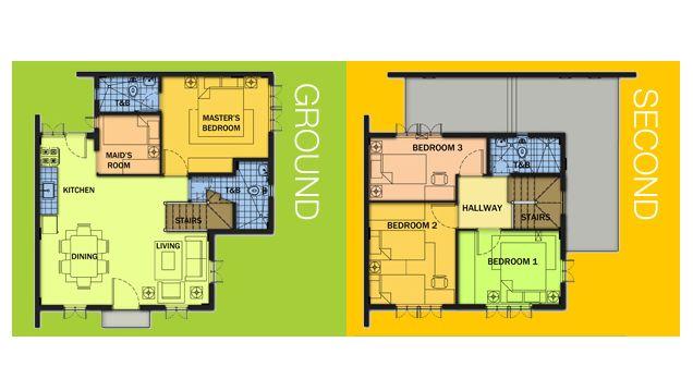 Camella Homes Design With Floor Plan House Ideas Modeller Hem Och Interirer
