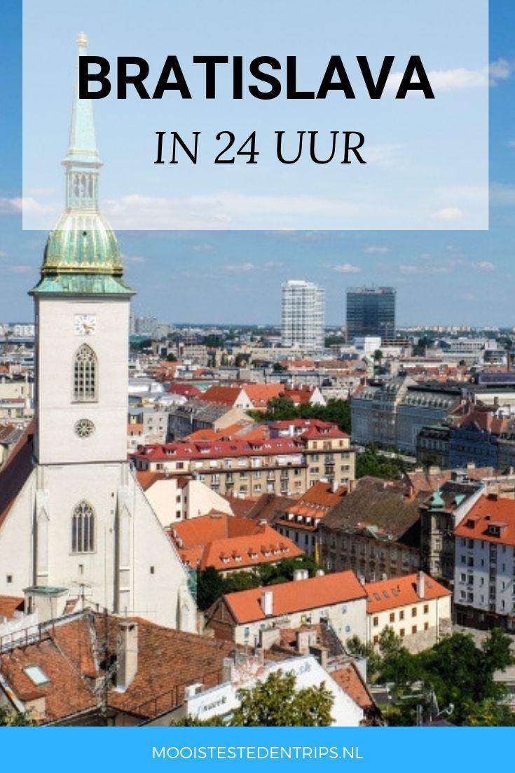 Bratislava Slowakije Bratislava Urlaub Slowakei
