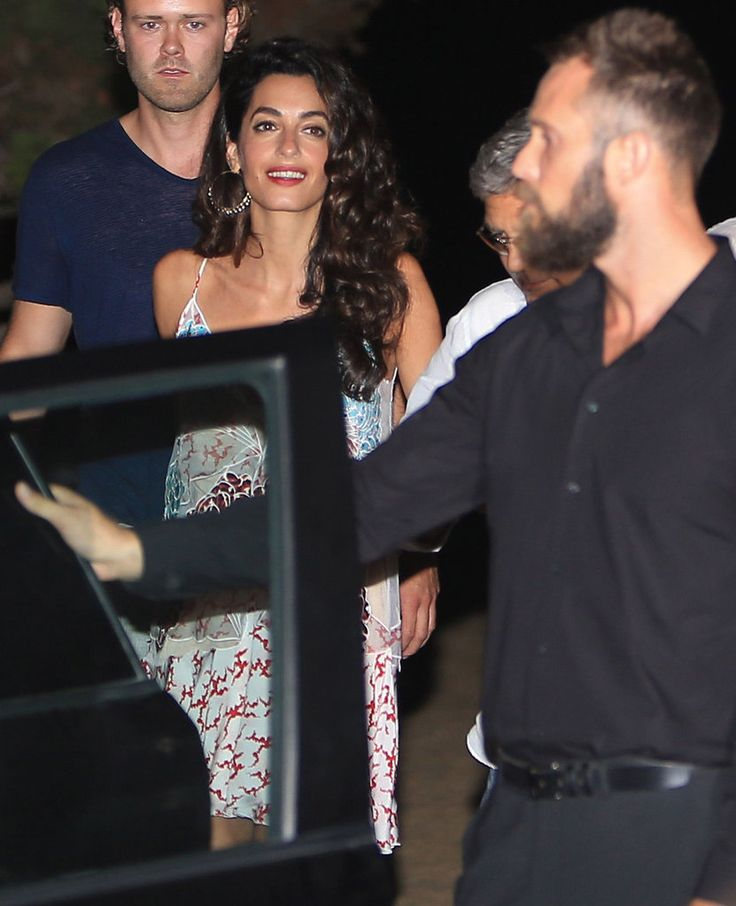 Amal and George Clooney Might Have Had the Most Gorgeous Double Date Ever