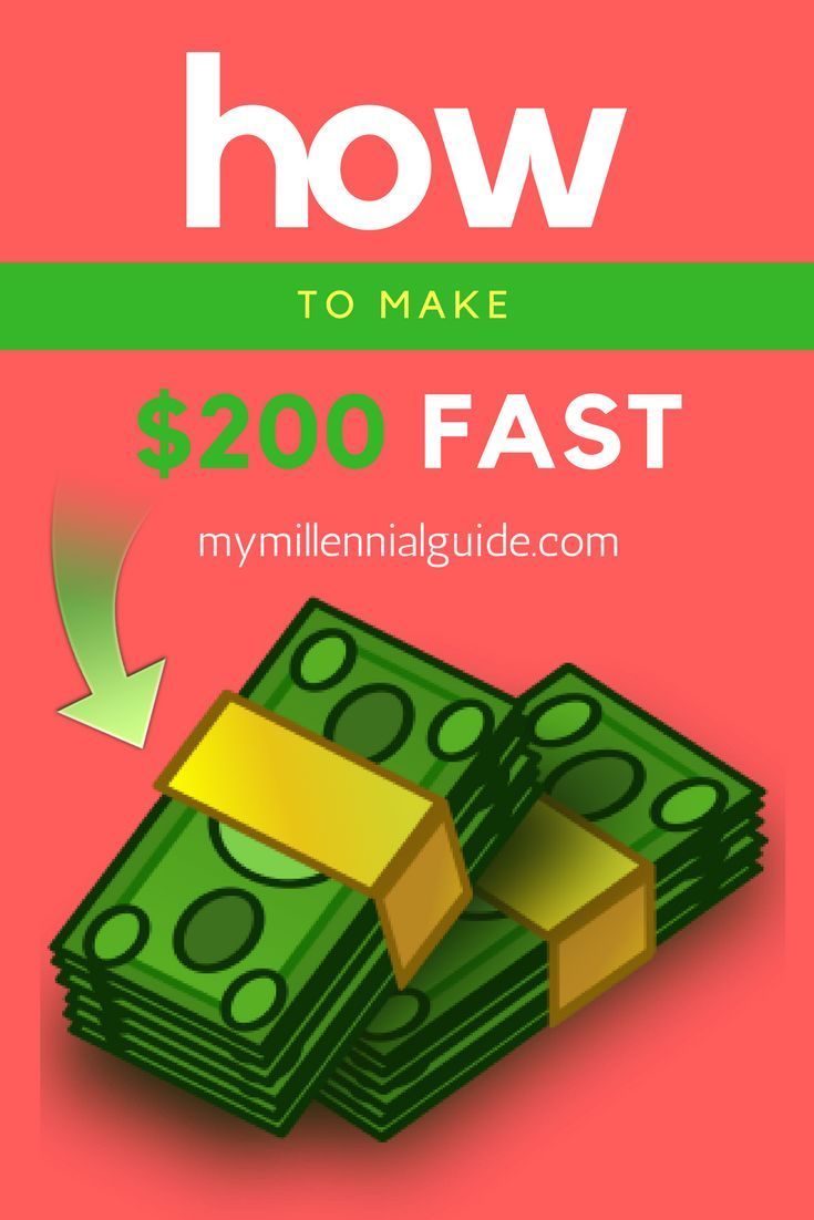 How to make $200 fast – Seriously. Are you looking to make money today? This is an exhaustive list of things that anyone can do, today, in order to make $200 of fast cash.