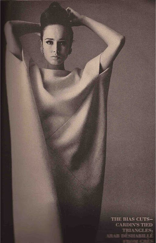 1963 - GRES dress by Irving Penn for Vogue