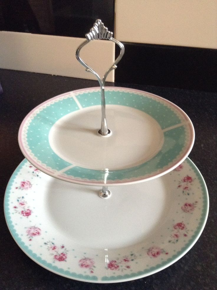My first attempt at cake stands. Very pretty. Very happy.