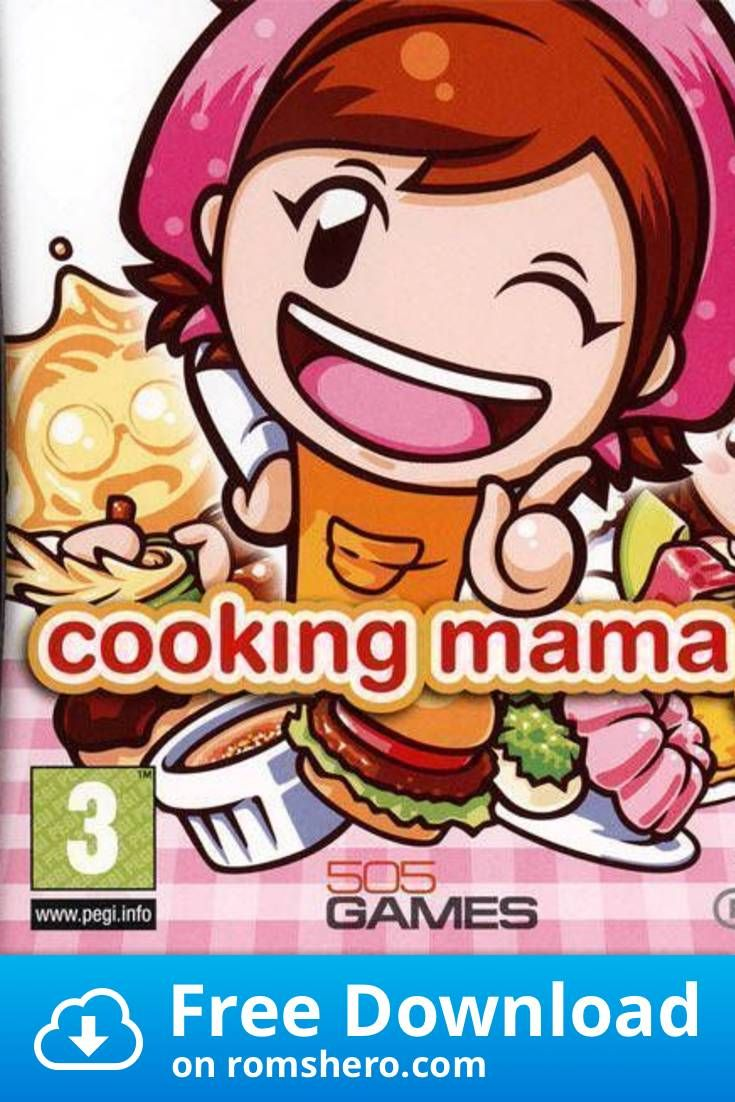 Download Cooking Mama 3 Eu Bahamut Nintendo Ds Nds Rom In