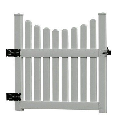 Cottage Gate 50 In Opening by New England Arbors. Save 7 Off!. $279.00. Constructed of long-lasting vinyl. Will not crack, rot or delaminate. Cottage Picket Gate Adds Beauty and Function to Your Arbor Enhance the beauty and elegance of your arbor with a New England Arbors high quality and maintenance free Cottage Gate. Practical, yet charming, our gate is a great way to say welcome to your friends and loved ones. Made of premium weather-resistant vinyl, the Cottage Picket Gate...