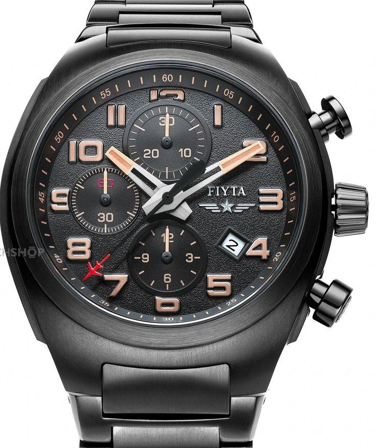 FIYTA Extreme Titanium Automatic Chronograph Watch GA8540.BBB