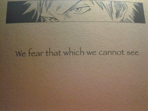 Day 25: Favorite bleach quote-Bleach/Quotes