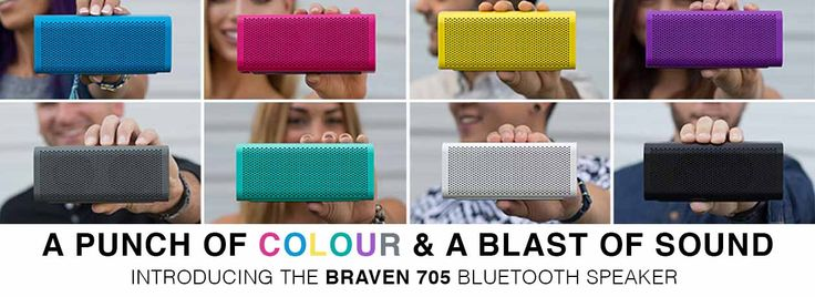 Bluetooth Wireless Speaker. Braven 705. Exclusively available at iStore.