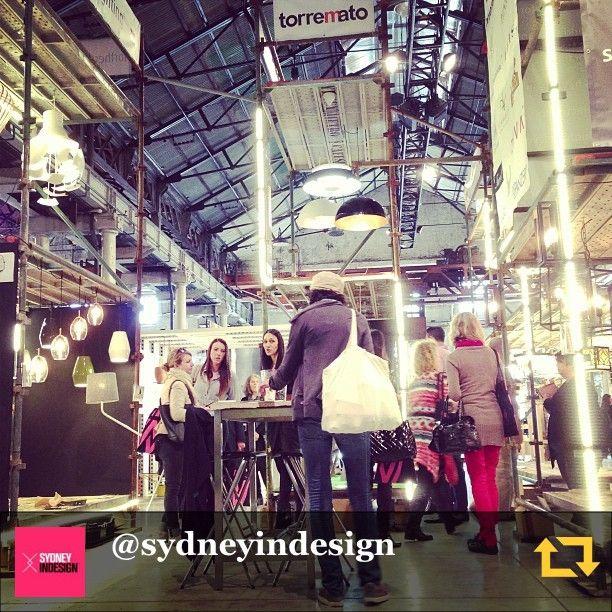LightCo installation at Sydney Indesign Galleria 2014.