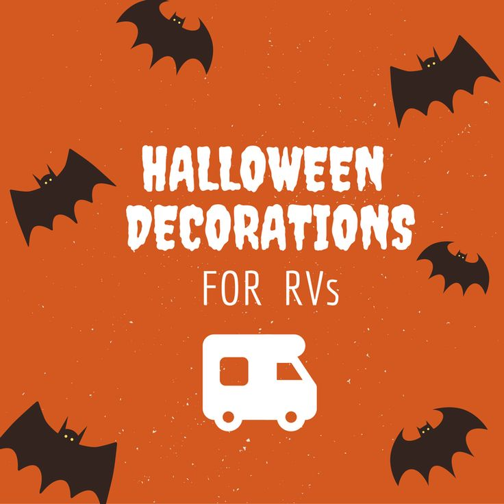 If you are a full time RVer or plan on #camping or traveling during #Halloween this year, it doesn't mean that you can't still show your spooky spirit! Check out these suggestions for decking out your #RV for the holiday: http://highwaywestvacations.com/blog/halloween-decorations-for-rvs.