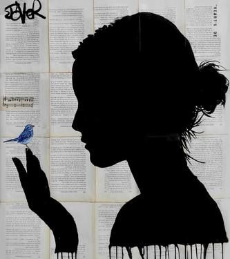 "Saatchi Art Artist Loui Jover; Drawing, ""little wishes"" #art"