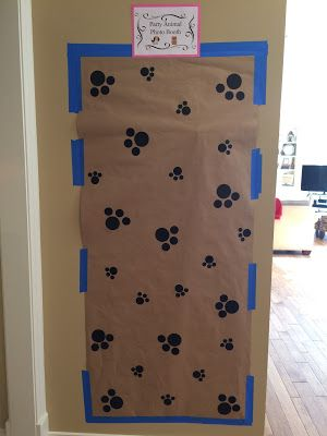 Photo Booth Back Drop - Paw Patrol Birthday Party