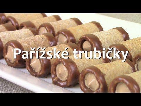 Pařížské trubičky / Helenčino pečení - YouTube