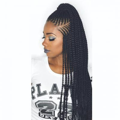 Have you been swooning over the hottest hairstyle of 2017 – Alicia Keys braids? We've compiled our top ideas for styling your cornrows.Cornrows have been around for many years now and are one of the most popular protective styles sported by African women. From braided to twisted, thick to thin,...