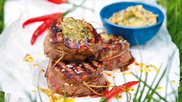 Biftek s bylinkovým máslem Foto: