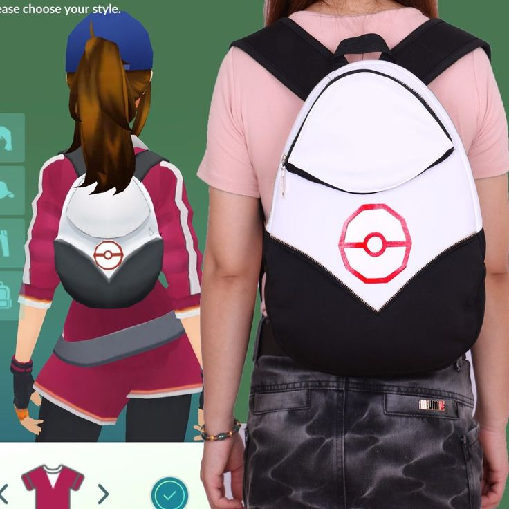 Pokemon GO Trainer Bag Team Valor Team MysticTeam Instinct Pokémon GO Nintendo #Unbranded #Backpack #Halloween