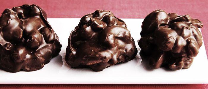 Эти шоколадно-ореховые конфеты - отличный десерт на Песах!