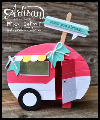 Mini Camper tutorial Available now in the brand new Whole Lotta Love Project Planner Valentines 2014