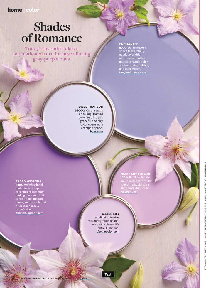 shades of romance paint - Google Search