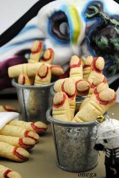 #recetas para #halloween #dedos de #brujas paso a paso