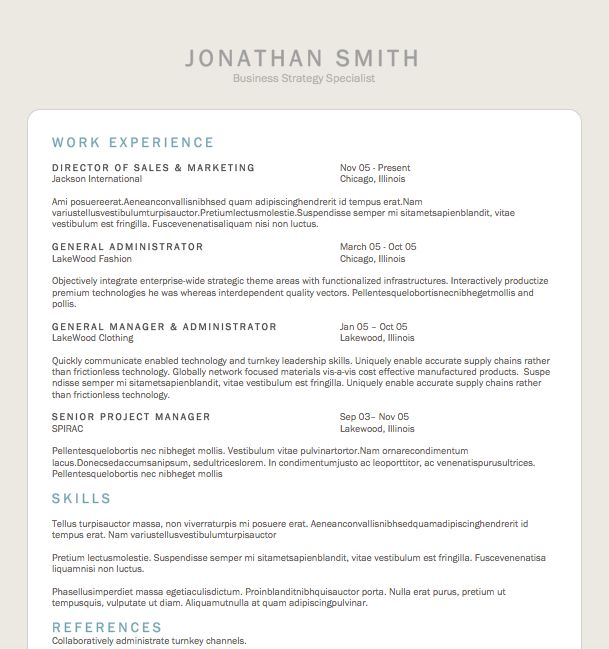 53 best resumes images on Pinterest Microsoft word, Resume - template for resume microsoft word